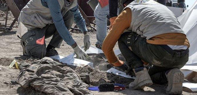 Musul'da 123 kişilik toplu mezar bulundu