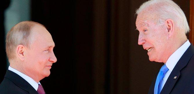 Biden: Putin şer naxwaze