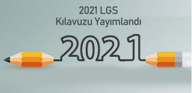 2021 LGS kılavuzu yayımlandı!