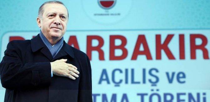 Erdoğan, bugün Diyarbakır'ı ziyaret edecek