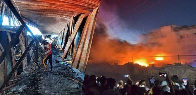 Irak'taki hastane yangında ölü sayısı 92'ye yükseldi