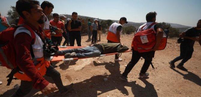 İşgal güçlerinden Filistinlilere sert müdahale: 108 yaralı