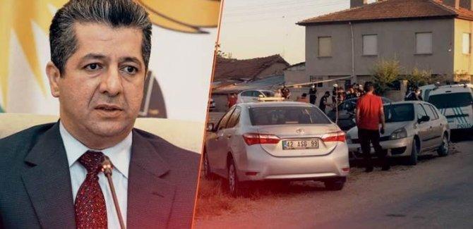 Mesrur Barzani'den Konya'daki Kürt aileye yönelik saldırıya ilişkin açıklama