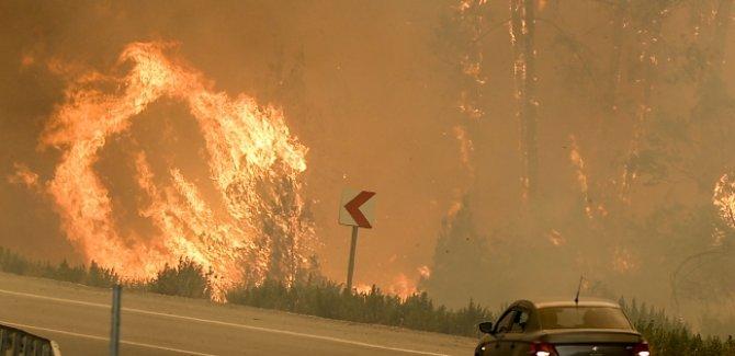 3 ilde orman yangınlarıyla mücadele sürüyor