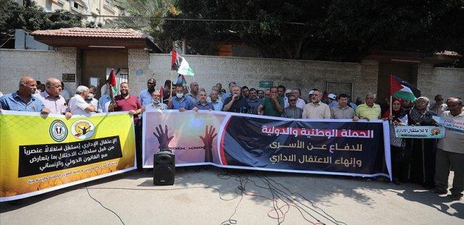 Filistin'den İsrail hapishanelerindeki 'idari tutukluluk' uygulamasına karşı kampanya