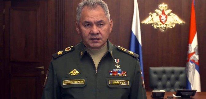 Rusya Savunma Bakanı Sergey Şoygu:İnsanlık hızla yok olmaya doğru ilerliyor