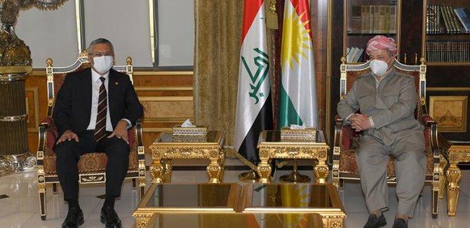 Başkan Barzani CHP heyetiyle görüştü: Hepimiz barışa hizmet etmeliyiz