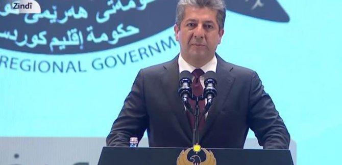 Mesrur Barzani: Kanla kurtarılan bu topraklara müdahaleyi asla kabul etmeyiz