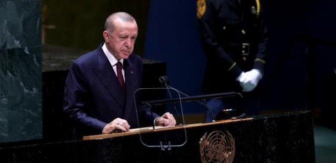 Erdoğan:Filistin halkına zulüm sürdükçe Orta Doğu'ya istikrar gelmez