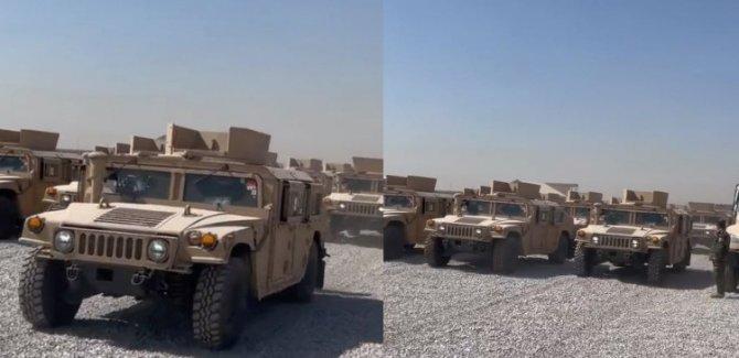 Koalisyondan Peşmerge'ye 70 zırhlı araç yardımı