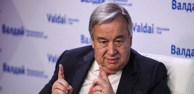 Guterres: 3 milyar kişi sağlıklı beslenemiyor