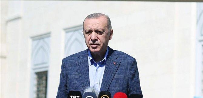 Erdoğan: ABD ile iki NATO ülkesi olarak çok daha farklı konumda olmamız gerekir