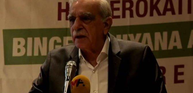 Yerel Yönetimler Konferansı'nda konuşan Ahmet Türk: Mutahap tüm aktörlerdir