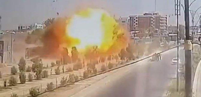Irak'ın Anbar vilayetinde büyük patlama!