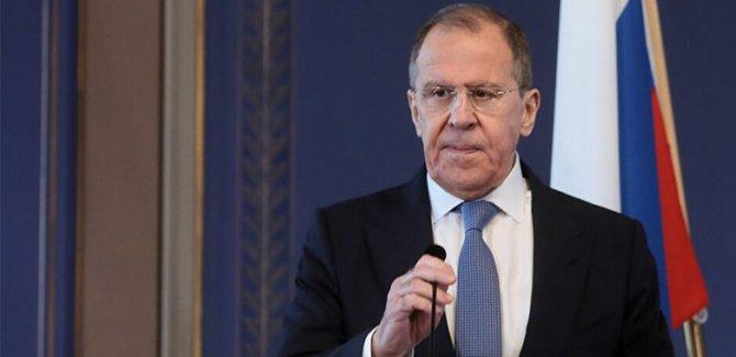Lavrov: Türkiye'yle yaptığımız anlaşmanın uygulanmasında ısrarcıyız