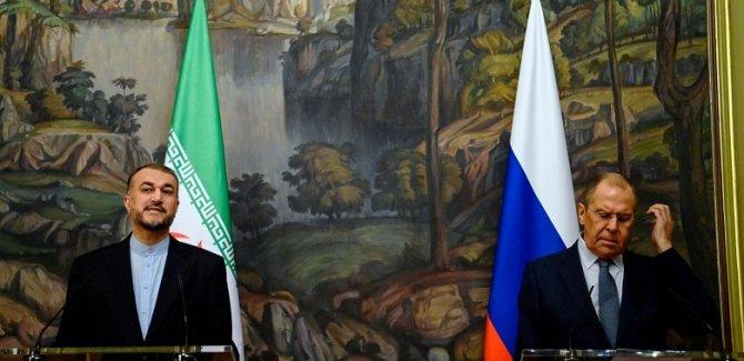 Rusya ve İran dışişleri bakanlarından nükleer anlaşma görüşmesi