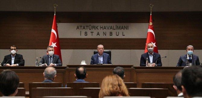 Erdoğan: Türkiye vesayeti de darbe zihniyetini de gömeli çok oldu