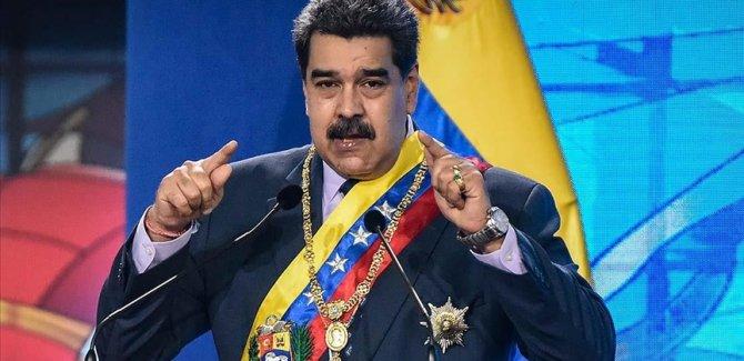 Maduro, muhalefetle diyaloğun ABD yüzünden kesildiğini söyledi