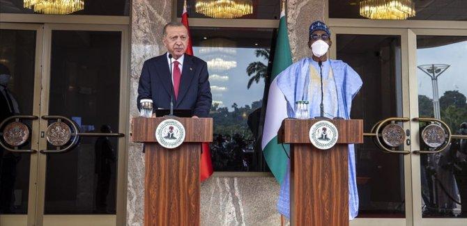 Erdoğan: Nijerya ile iş birliğini daha ileri taşımaya kararlıyız