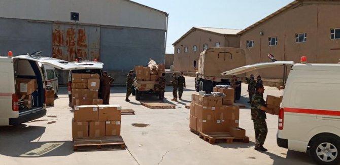 Uluslararası Koalisyon'dan Peşmerge'ye tıbbi malzeme yardımı