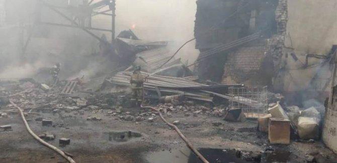 Rusya'da barut atölyesinde patlama: 16 ölü