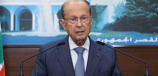 Lübnan Cumhurbaşkanı'ndan 'İç savaşa dönüş yok' mesajı