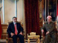 Bakan Yıldız Mesud Barzani ile görüştü