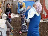 Suriye'de iki çocuk daha donarak öldü