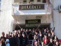 Tunceli Belediyesi'ne 'Dersim' tabelası