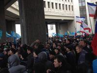 Kırım Tatarları ve Ukraynalılar ile Ruslar karşı karşıya / CANLI
