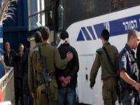 4 Filistinli gözaltına alındı
