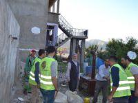 İzmir Öze Dönüş Yüksekova'da yardım çalışmalarına devam etti
