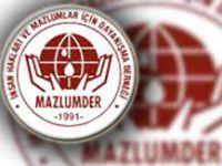 Mazlumder Şanlıurfa şubesi Basın Açıklaması