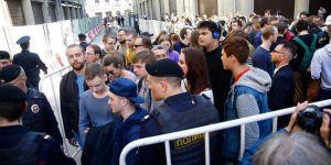 Rusya'da muhalif gösteriler