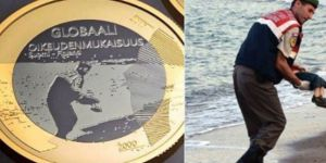Finlandiya ulusal parasına Alan Kurdi'nin resmini koydu