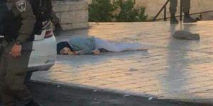 Alçak İsrail polisinin, işgal altındaki Doğu Kudüs'te bıçaklı saldırı girişiminde bulunduğu iddiasıyla Filistinli bir genç kızı kurşuna dizip katlettiler.