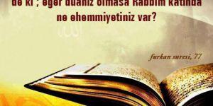 Duanın Kabulü/Ufkumuz maarif grubu