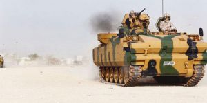 TSK, 5 zırhlı araç ve 23 personeliyle Katar'da