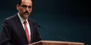 Cumhurbaşkanlığı sözcüsü İbrahim Kalın: ABD'nin YPG mektubu yeterli değil