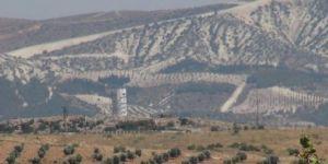 Sınıra 25 metrelik gözetleme kuleleri