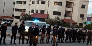 Terörist İsrail'in Amman Büyükelçiliğinde ateş açıldı