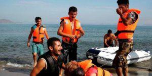 Çeşme'de göçmen faciası