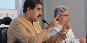 Maduro: Emperyalist Trump'ın yaptırımlarından gurur duydum