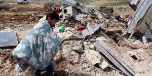 Siyonist İsrail Arakib köyünde 116'ncı kez yıkım yaptı