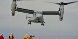 ABD askeri uçağı düştü