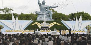 Nagasaki'ye atom bombası atılmasının 72. yıl dönümünde barış çağrısı