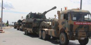 Suriye sınırına askeri sevkiyat yoğunluğu
