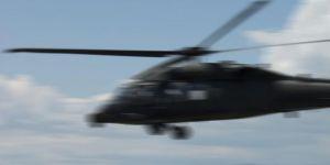 ABD'ye ait helikopter düştü