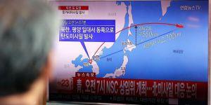 Kore füzesi Japonya'nın üzerinden geçti
