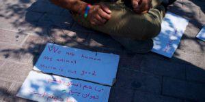 Midilli'deki göçmenlerin durumu gittikçe kötüleşiyor